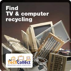 Find TV & computer recycling