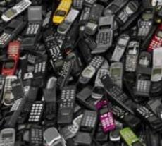Mobile phone waste